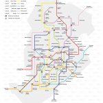 Estudo para a rede de Trens Metropolitanos de Belo Horizonte (o Metrô de BH)