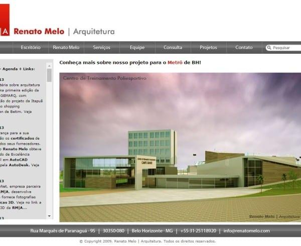 site-antigo-renato-melo-arquitetura-ltda